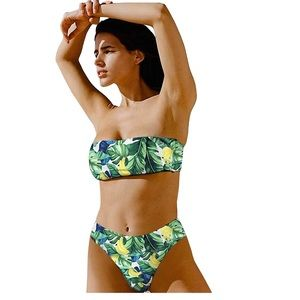 Other - NWT 2 Pieces Banana Bikini Size Large